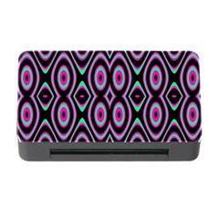 Colorful Seamless Pattern Vibrant Pattern Memory Card Reader with CF