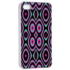 Colorful Seamless Pattern Vibrant Pattern Apple Iphone 4/4s Seamless Case (white)