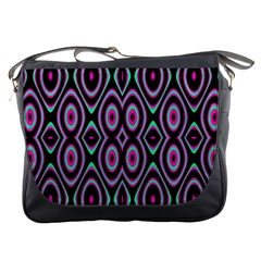 Colorful Seamless Pattern Vibrant Pattern Messenger Bags