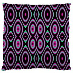 Colorful Seamless Pattern Vibrant Pattern Large Cushion Case (one Side)