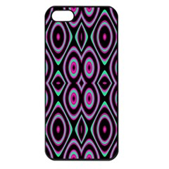 Colorful Seamless Pattern Vibrant Pattern Apple Iphone 5 Seamless Case (black)