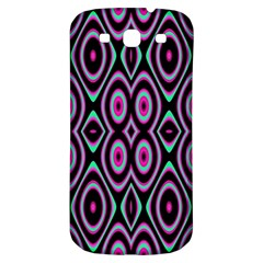 Colorful Seamless Pattern Vibrant Pattern Samsung Galaxy S3 S III Classic Hardshell Back Case