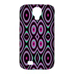 Colorful Seamless Pattern Vibrant Pattern Samsung Galaxy S4 Classic Hardshell Case (PC+Silicone)