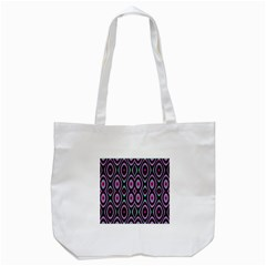 Colorful Seamless Pattern Vibrant Pattern Tote Bag (White)