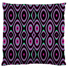 Colorful Seamless Pattern Vibrant Pattern Large Flano Cushion Case (two Sides)