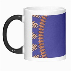 Frame Of Leafs Pattern Background Morph Mugs