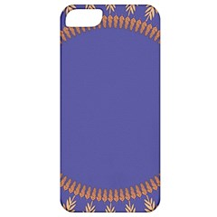 Frame Of Leafs Pattern Background Apple iPhone 5 Classic Hardshell Case