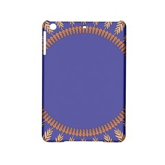 Frame Of Leafs Pattern Background iPad Mini 2 Hardshell Cases