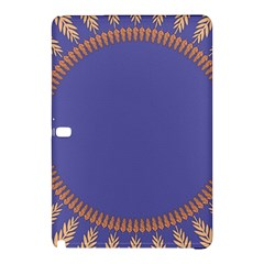 Frame Of Leafs Pattern Background Samsung Galaxy Tab Pro 12 2 Hardshell Case