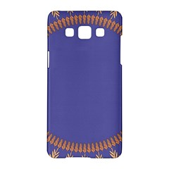 Frame Of Leafs Pattern Background Samsung Galaxy A5 Hardshell Case