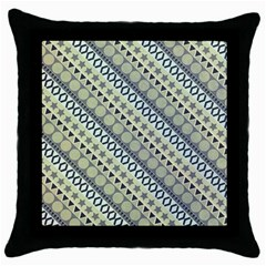 Abstract Seamless Background Pattern Throw Pillow Case (black)