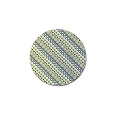 Abstract Seamless Background Pattern Golf Ball Marker (10 Pack)