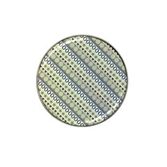 Abstract Seamless Background Pattern Hat Clip Ball Marker (4 Pack)