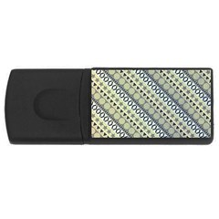 Abstract Seamless Background Pattern Usb Flash Drive Rectangular (4 Gb)