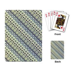 Abstract Seamless Background Pattern Playing Card