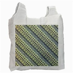 Abstract Seamless Background Pattern Recycle Bag (one Side)