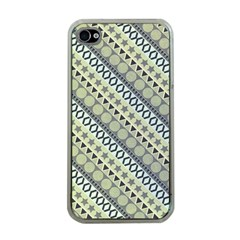 Abstract Seamless Background Pattern Apple iPhone 4 Case (Clear)