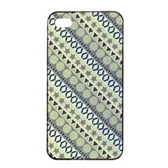 Abstract Seamless Background Pattern Apple Iphone 4/4s Seamless Case (black)