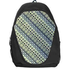 Abstract Seamless Background Pattern Backpack Bag