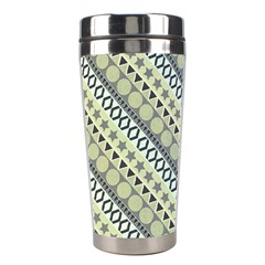 Abstract Seamless Background Pattern Stainless Steel Travel Tumblers