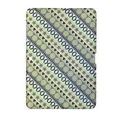 Abstract Seamless Background Pattern Samsung Galaxy Tab 2 (10.1 ) P5100 Hardshell Case