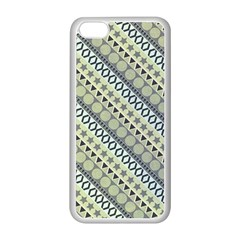 Abstract Seamless Background Pattern Apple Iphone 5c Seamless Case (white)