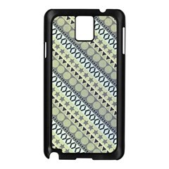 Abstract Seamless Background Pattern Samsung Galaxy Note 3 N9005 Case (Black)