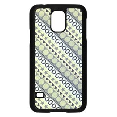 Abstract Seamless Background Pattern Samsung Galaxy S5 Case (Black)