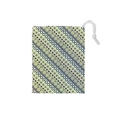 Abstract Seamless Background Pattern Drawstring Pouches (Small)