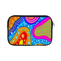 Hand Painted Digital Doodle Abstract Pattern Apple iPad Mini Zipper Cases