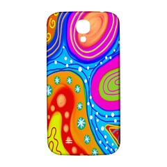 Hand Painted Digital Doodle Abstract Pattern Samsung Galaxy S4 I9500/I9505  Hardshell Back Case