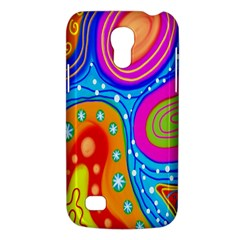Hand Painted Digital Doodle Abstract Pattern Galaxy S4 Mini