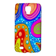 Hand Painted Digital Doodle Abstract Pattern Galaxy S4 Active