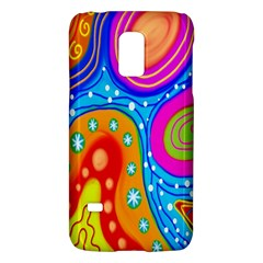 Hand Painted Digital Doodle Abstract Pattern Galaxy S5 Mini