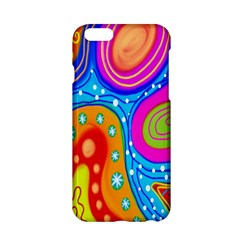 Hand Painted Digital Doodle Abstract Pattern Apple iPhone 6/6S Hardshell Case