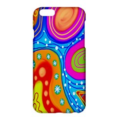 Hand Painted Digital Doodle Abstract Pattern Apple iPhone 6 Plus/6S Plus Hardshell Case