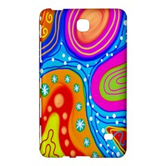 Hand Painted Digital Doodle Abstract Pattern Samsung Galaxy Tab 4 (8 ) Hardshell Case