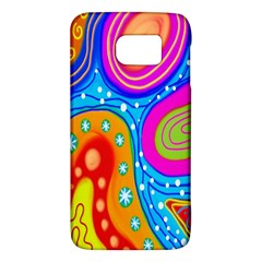Hand Painted Digital Doodle Abstract Pattern Galaxy S6