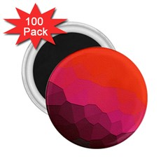Abstract Elegant Background Pattern 2 25  Magnets (100 Pack)
