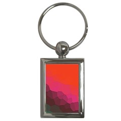 Abstract Elegant Background Pattern Key Chains (rectangle)