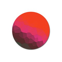 Abstract Elegant Background Pattern Magnet 3  (round)