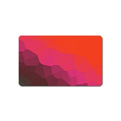 Abstract Elegant Background Pattern Magnet (name Card)