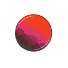 Abstract Elegant Background Pattern Hat Clip Ball Marker (4 pack)