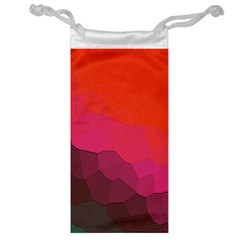 Abstract Elegant Background Pattern Jewelry Bag