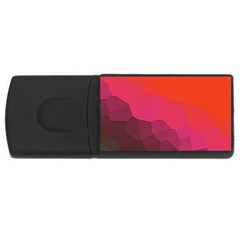 Abstract Elegant Background Pattern USB Flash Drive Rectangular (4 GB)
