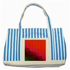 Abstract Elegant Background Pattern Striped Blue Tote Bag