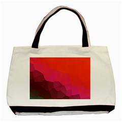 Abstract Elegant Background Pattern Basic Tote Bag (Two Sides)