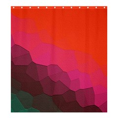 Abstract Elegant Background Pattern Shower Curtain 66  X 72  (large)