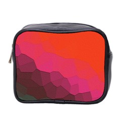 Abstract Elegant Background Pattern Mini Toiletries Bag 2-Side