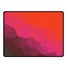 Abstract Elegant Background Pattern Fleece Blanket (Small)